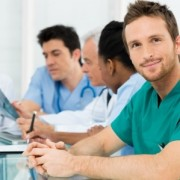 A team of physicians has a meeting