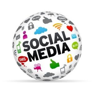 social media image cloud