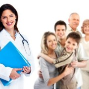 Family Medicine Physician with patients of all ages