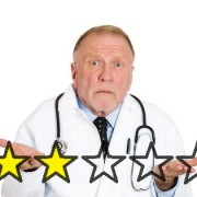 Physician with poor healthgrades review