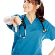 Nurse - Thumbs Down - Show me your stethoscope