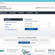 Healthcare Job Board HospitalRecruiting.com