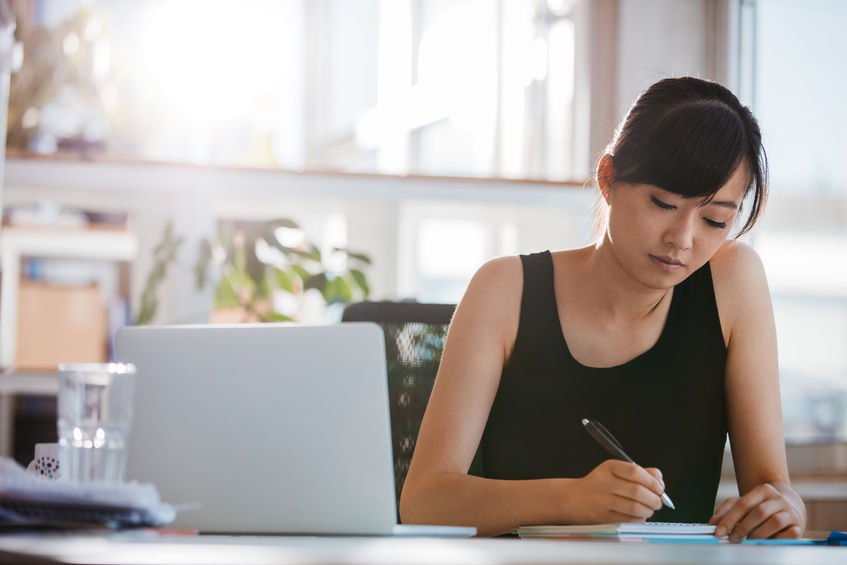writing a journal about work can help relieve stress