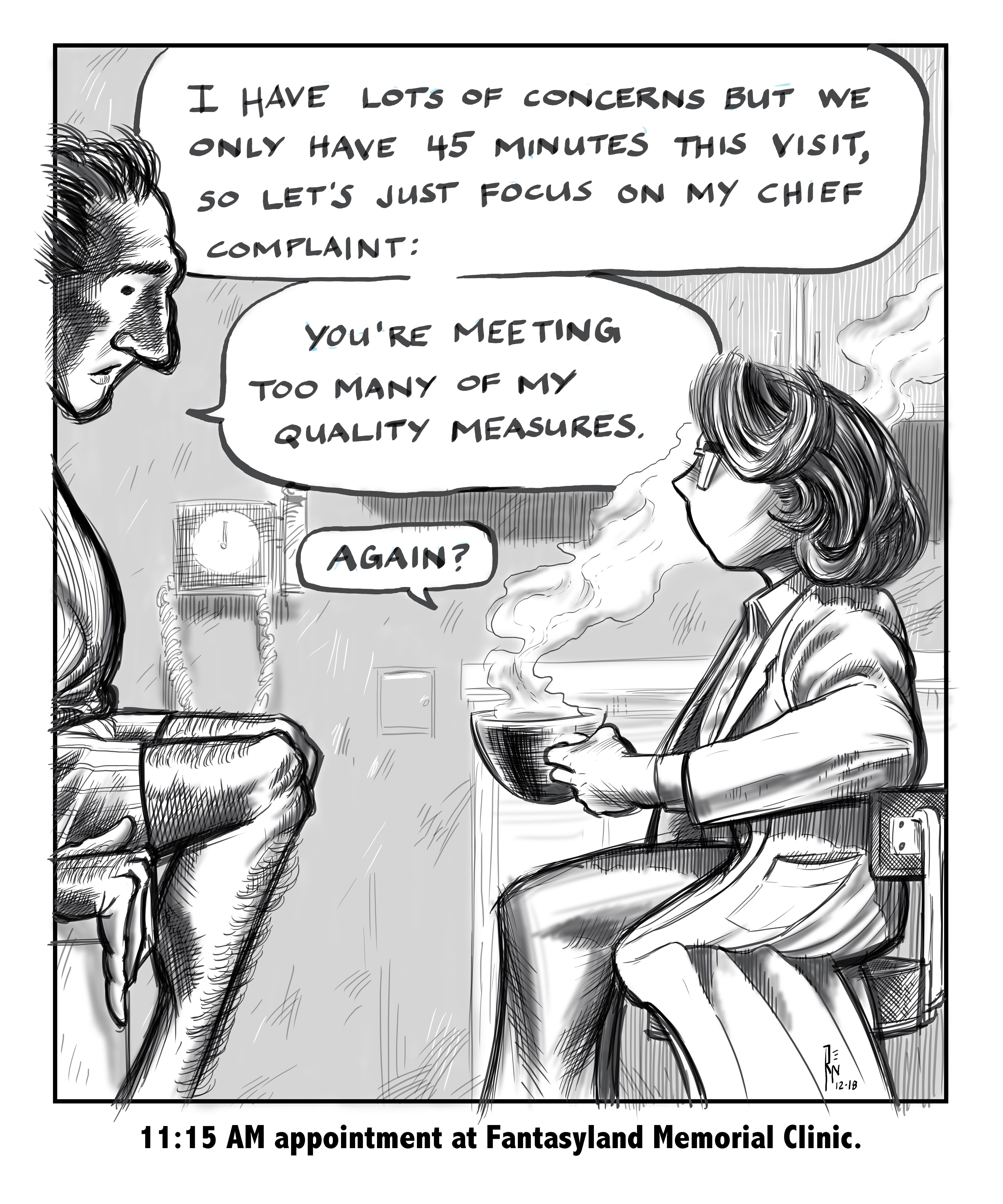 physician quality measures, clinical quality measures, medical humor