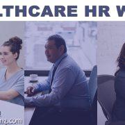 healthcare HR professionals at a desk
