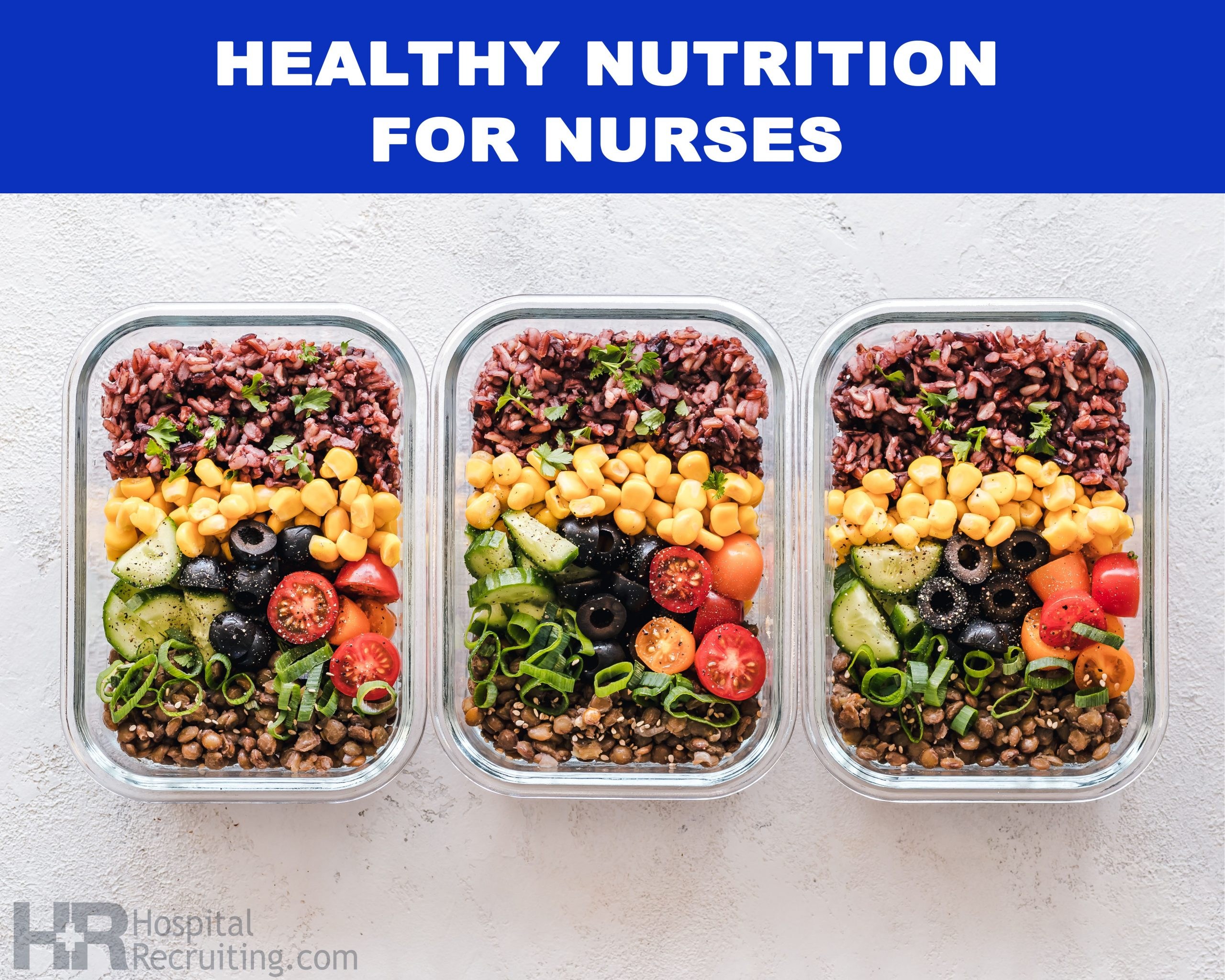 Good nutrition for work lunches