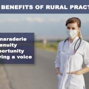 practicing medicine in a rural area